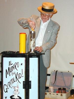 Al Munro doing his Magic